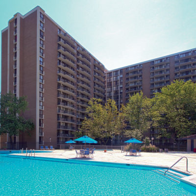 Westchester Apartment pool