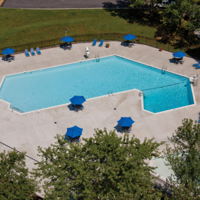 Westchester Tower pool view